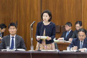 4月23日参議院厚生労働委員会で質問させていただきました。