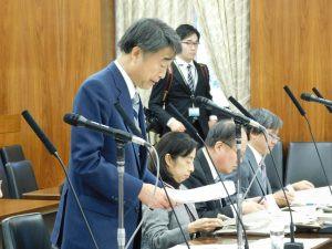1月24日 参議院厚生労働委員会(閉会中審査)で質問しました。