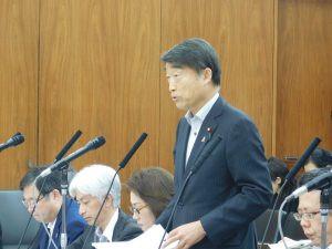 6月11日参議院厚生労働委員会で質問させていただきました。