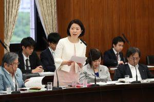 6月8日参議院厚生労働委員会で質問させていただきました。