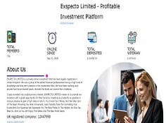 Exspecto.pro Review (SCAM) : Make Money Online Up To 20% Daily Forever