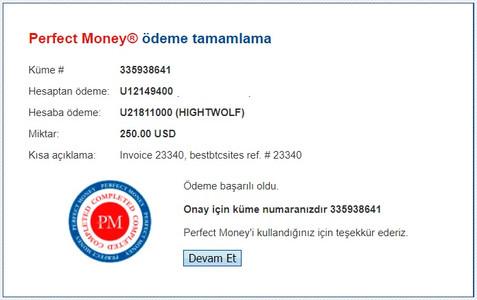 hightwolf.com our deposit details