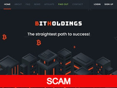 Bitholdings.biz Review (SCAM): New hyip 0.08% - 5%  hourly forever