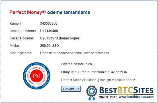 benacooper.com investment details
