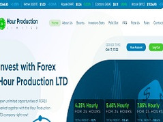 Hourproduction.biz Review (SCAM): 4.25% - 7.85% hourly profit