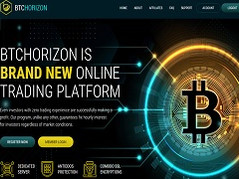 Btchorizon.biz Review (SCAM) : New Hyip 10% - 30% daily forever | Hourly accruals