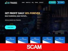 Ex-trades.com Review (SCAM) : Get profit daily 30% lifelong