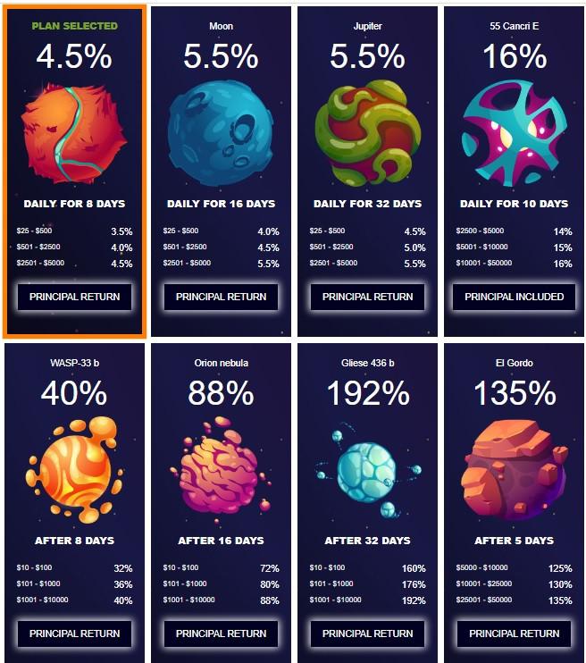 ufobit.biz online investment site