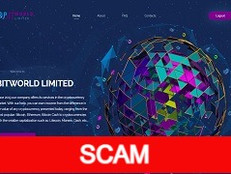 Bit-world.limited Review (SCAM) : 1.5% - 2.5% daily for 100 days