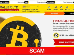 Raller.biz Review (SCAM) : Online Investment Site 3% - 20% Daily For 15 - 30 Days
