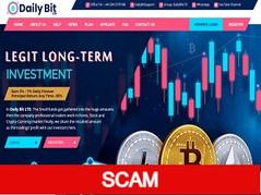 Dailybitltd.com Review (SCAM) : 3% - 7% daily forever