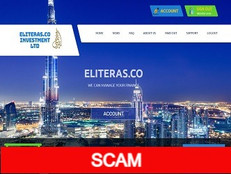 Eliteras.co Review (SCAM) : Up to 4% hourly for lifelong