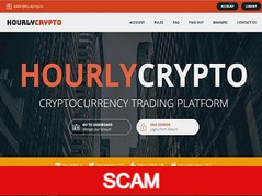Hourlycryp.to Review (SCAM) : 0.08% - 12% hourly for lifetime