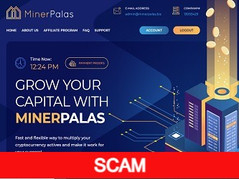 Minerpalas.biz Review (SCAM) : 6% - 28% daily for lifetime