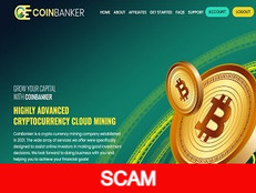 Coinbanker.top Review (SCAM) : 8% - 30% daily for lifelong