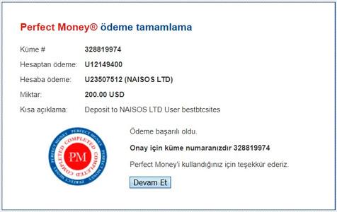 new hyip site deposit