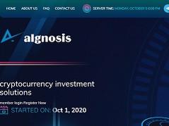 Algnosis.com Review (SCAM) : 10% - 20% Daily Profit Return for Lifetime