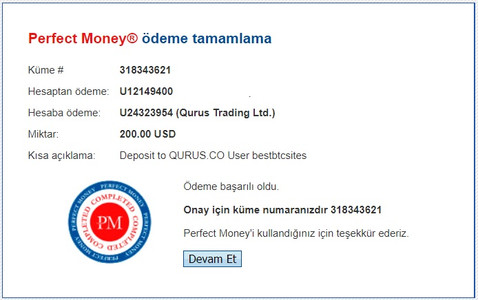 Qurus.co hyip online investment site