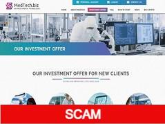 Medtech.biz Review (SCAM): 5% - 8% daily for lifetime