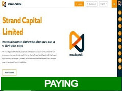 🥇Strandcapital.io Review : 125% - 250% after 2 - 4 days