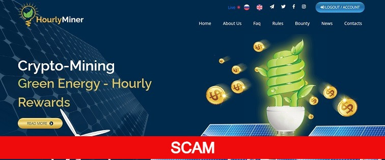 hourlyminer.com new hourly paying hyip site