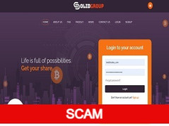 Solidgroup.cc Review (SCAM): Up to 5% hourly for lifelong