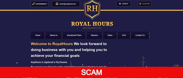 royalhours new hyip site