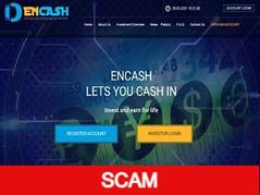 Encash.cc Review (SCAM) : 0.09% hourly for 30 days