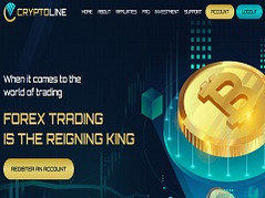 Cryptoline.top Review (SCAM) : New Hyip Site 10% - 20% Daily Forever