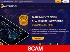 Fastpayments.biz Review (SCAM): 6.5% - 10% daily forever