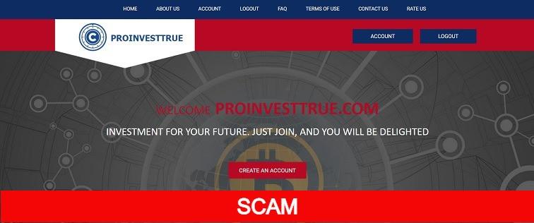 Proinvesttrue.com hyip site review