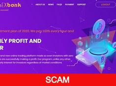 Gainexbank.com Review (SCAM) : New Hyip Site 0.40% - 1% Hourly Forever