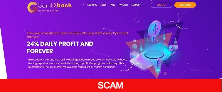 gainexbank.com new profitable hyip site
