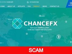 Chancefx.com Review (SCAM) : New Hyip Up to 4% Hourly For Lifetime