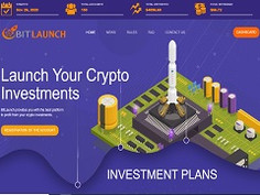 Bitlaunch.biz Review : New Hyip 12% - 24% daily forever