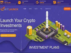 Bitlaunch.biz Review (SCAM) : New Hyip 12% - 24% daily forever