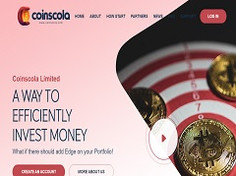Coinscola.com Review (SCAM) : New Hyip Up to 12% Daily Profit Income
