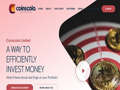 Coinscola.com Review : New Hyip Up to 12% Daily Profit Income