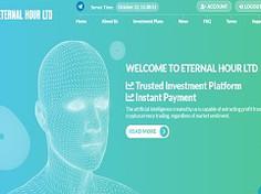 Eternalhour.biz Review (SCAM) : 1.08% - 13% Hourly Profit Return