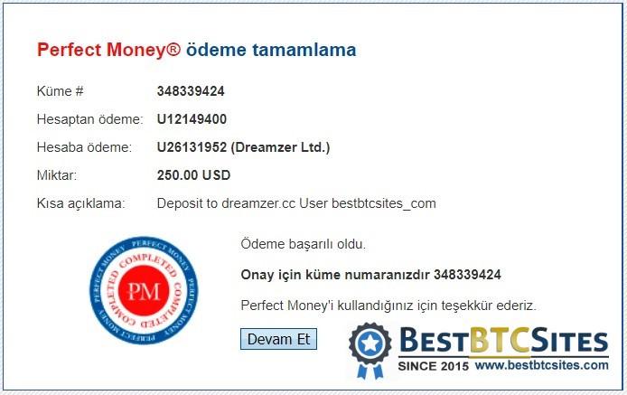 dreamzer.cc payment proof