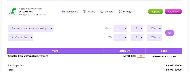 bitgains.io payment proof