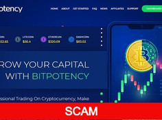 Bitpotency.com Review (SCAM) : Up to 30% lifetime daily profit yield