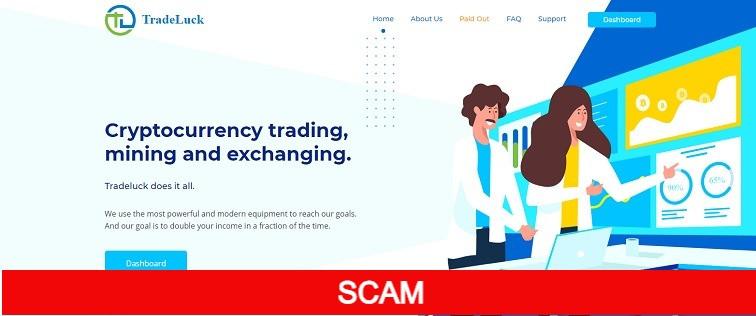 tradeluck.biz online investment site