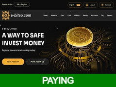 🥇E-biteo.com Review : Earn up to 230% end of term