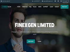Finexgen.com Review (SCAM) : Online Investment 4% - 7% For Lifetime