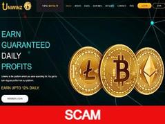Uniwinz.com Review (SCAM) : 10% - 12% daily forever