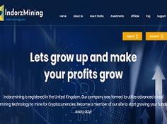Indorzmining.com Review (SCAM) : Up To 15% Daily For 365 Days