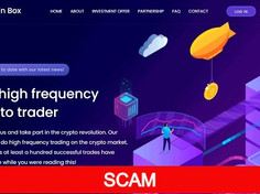 Coinbox.cc Review (SCAM) : New Investment Site 0.09% - 5% Profit Every Hour