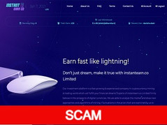 Instantearn.co Review (SCAM): 0.13% - 0.25% hourly for 30 days
