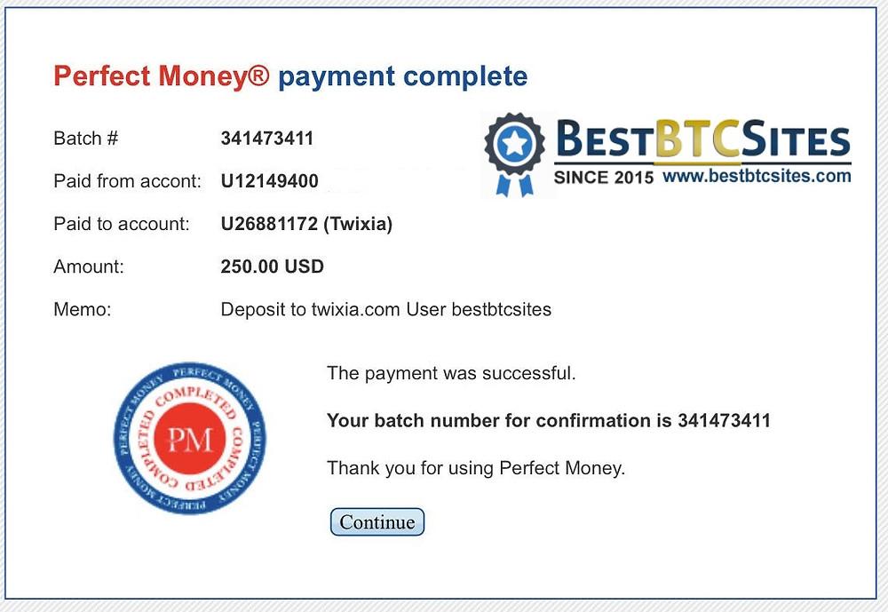 twixia.com payment proof